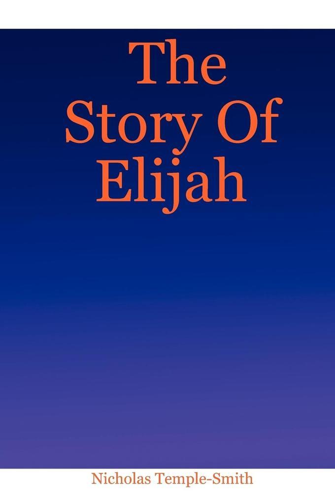 The Story of Elijah als Buch