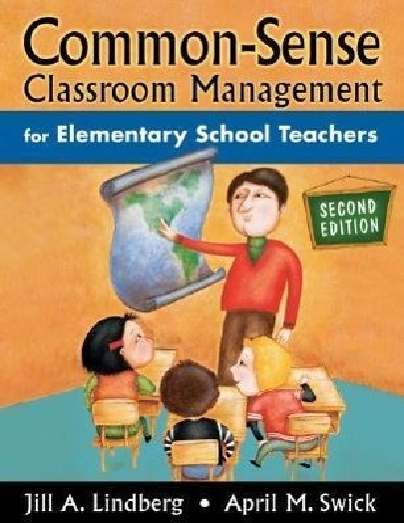 Common-Sense Classroom Management for Elementary School Teachers als Taschenbuch