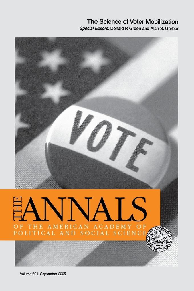The Science of Voter Mobilization als Taschenbuch