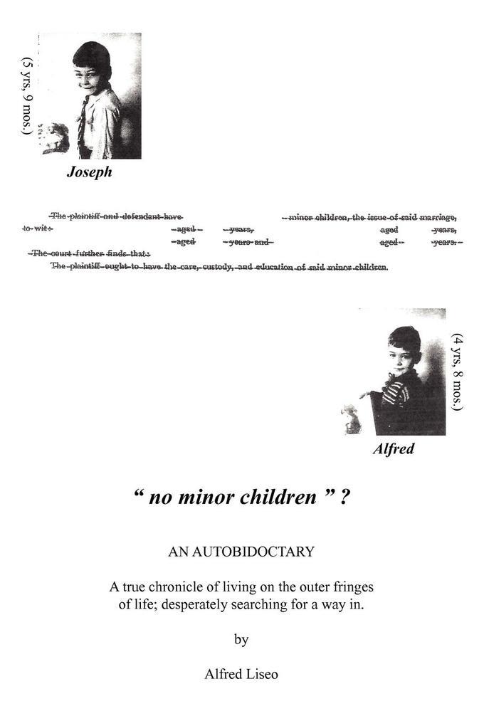 No Minor Children ? als Taschenbuch