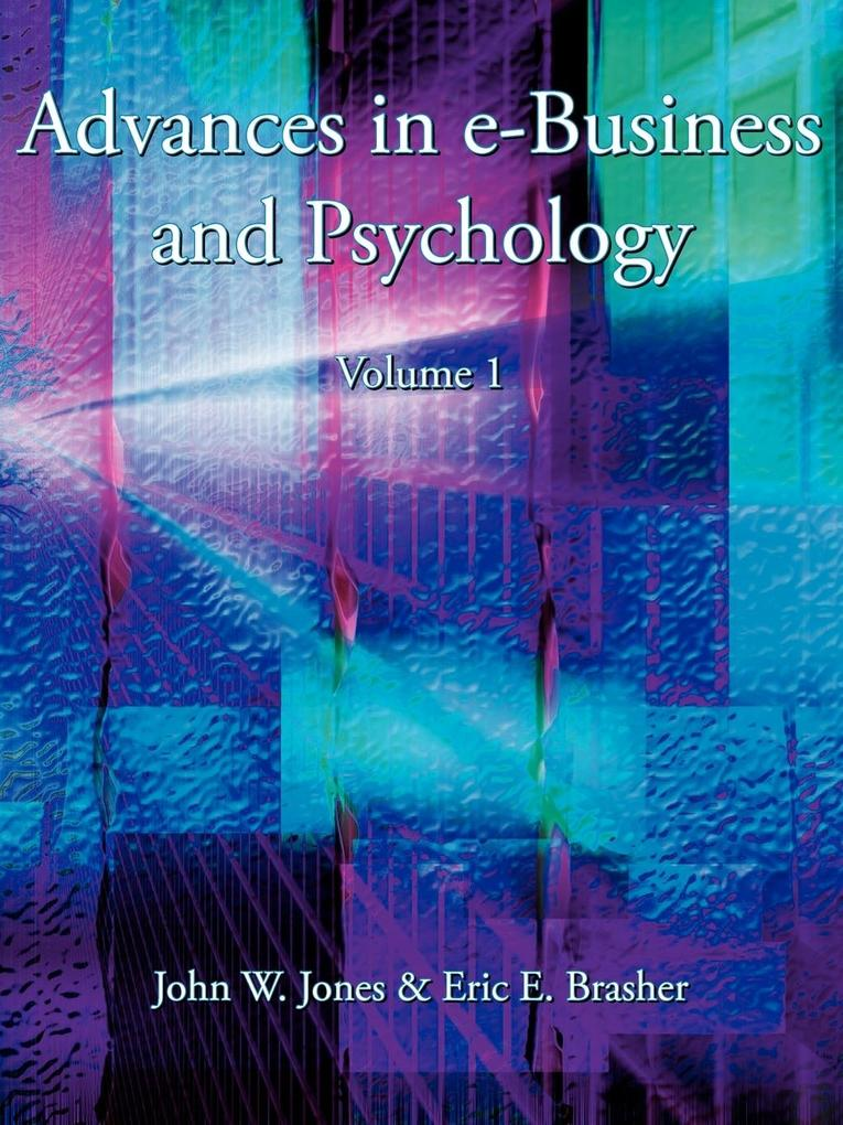Advances in E-Business and Psychology als Taschenbuch