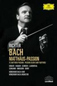 MATTHÄUS-PASSION (GA) als DVD
