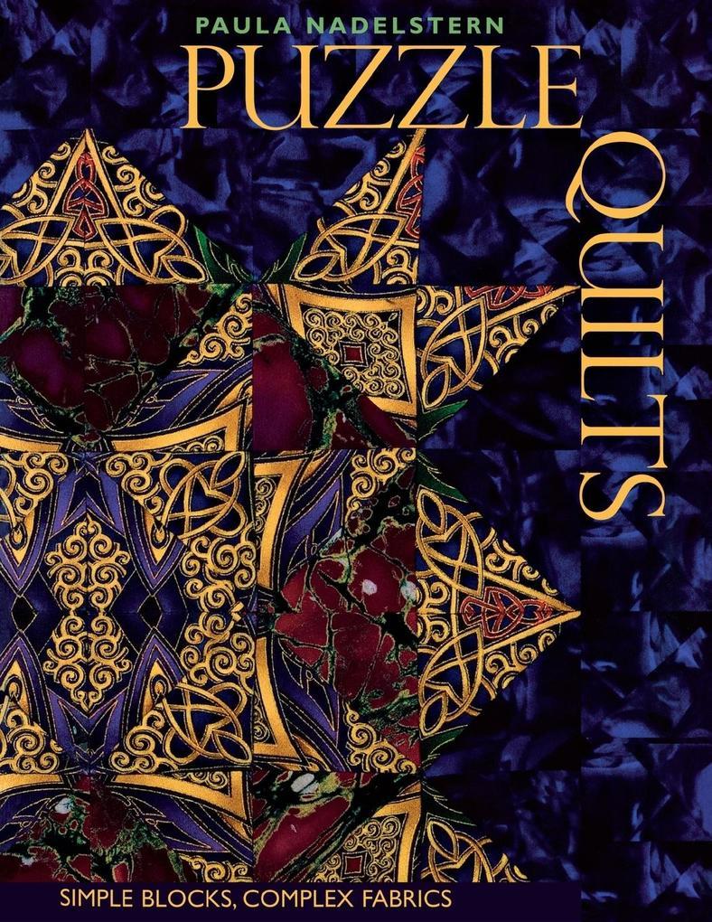 Puzzle Quilts als Taschenbuch