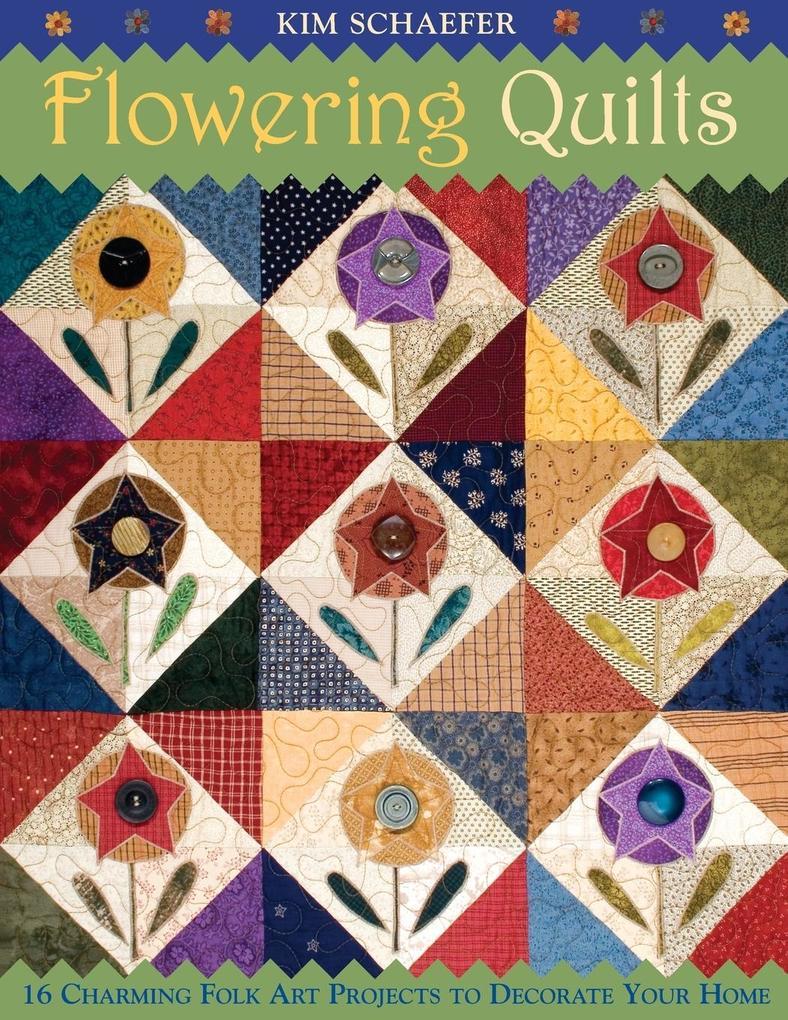 Flowering Quilts als Taschenbuch