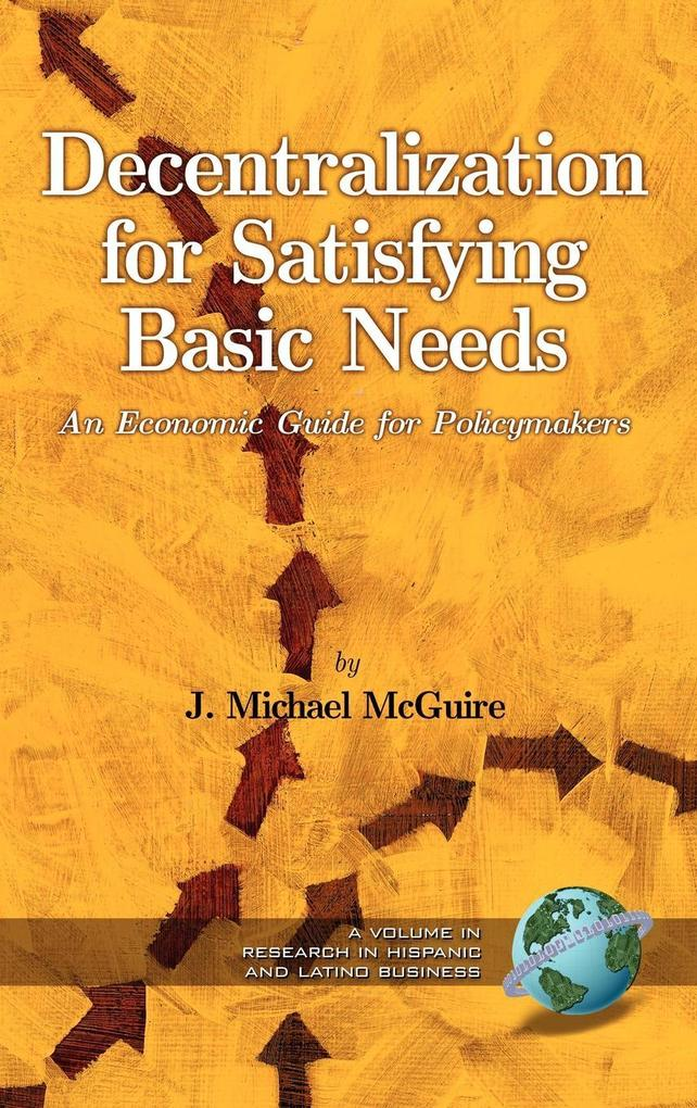 Decentralization for Satisfying Basic Needs als Buch