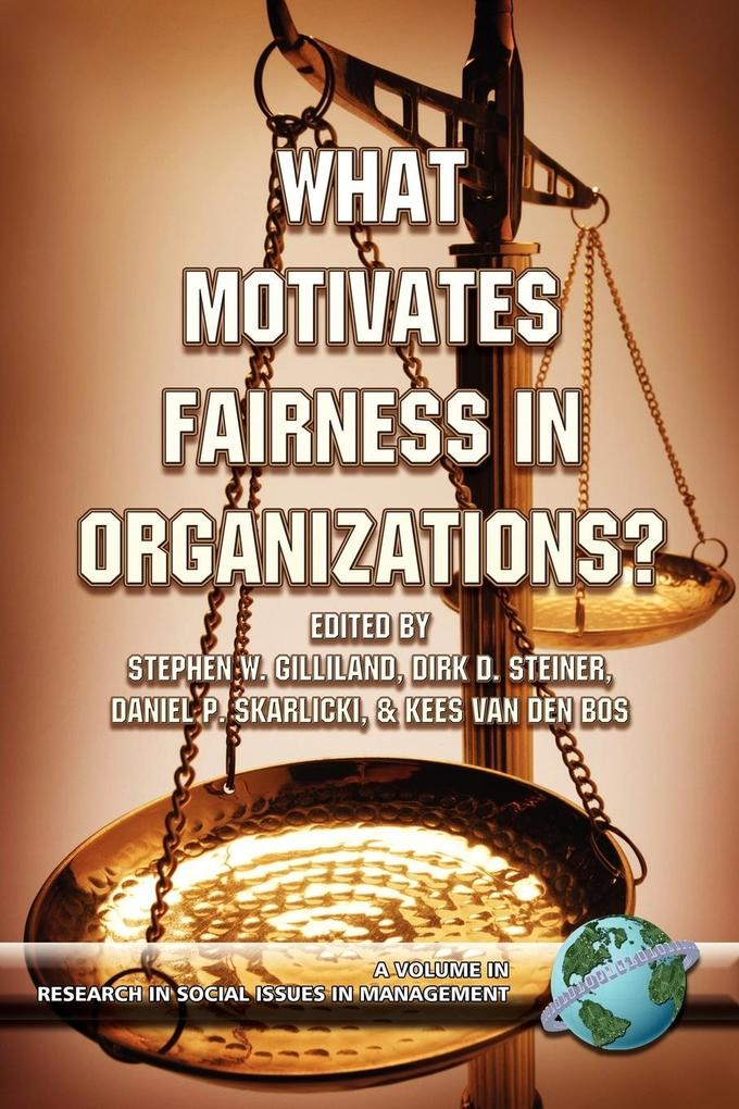What Motivates Fairness in Organizations (PB) als Taschenbuch