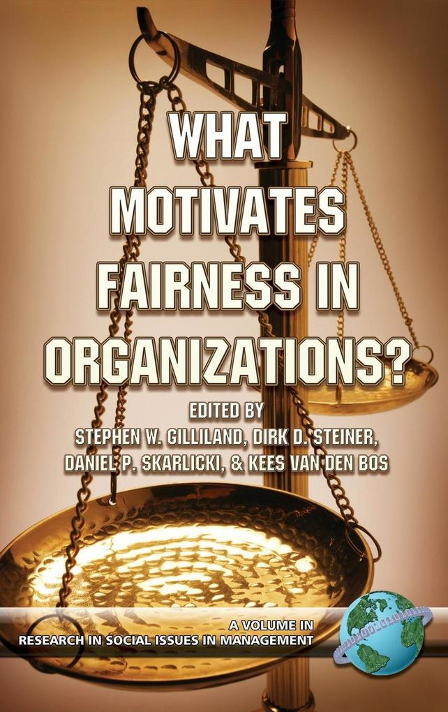 What Motivates Fairness in Organizations (Hc) als Buch