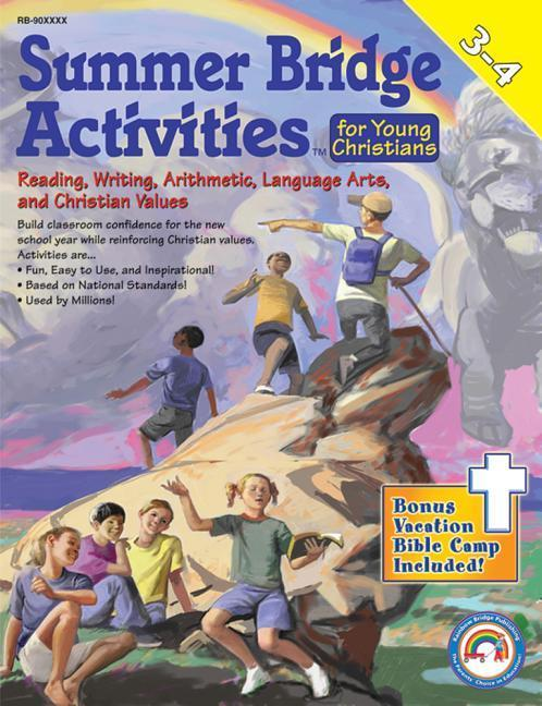 Summer Bridge Activities for Young Christians 3-4 [With Punch-Out Math Flash Cards] als Taschenbuch