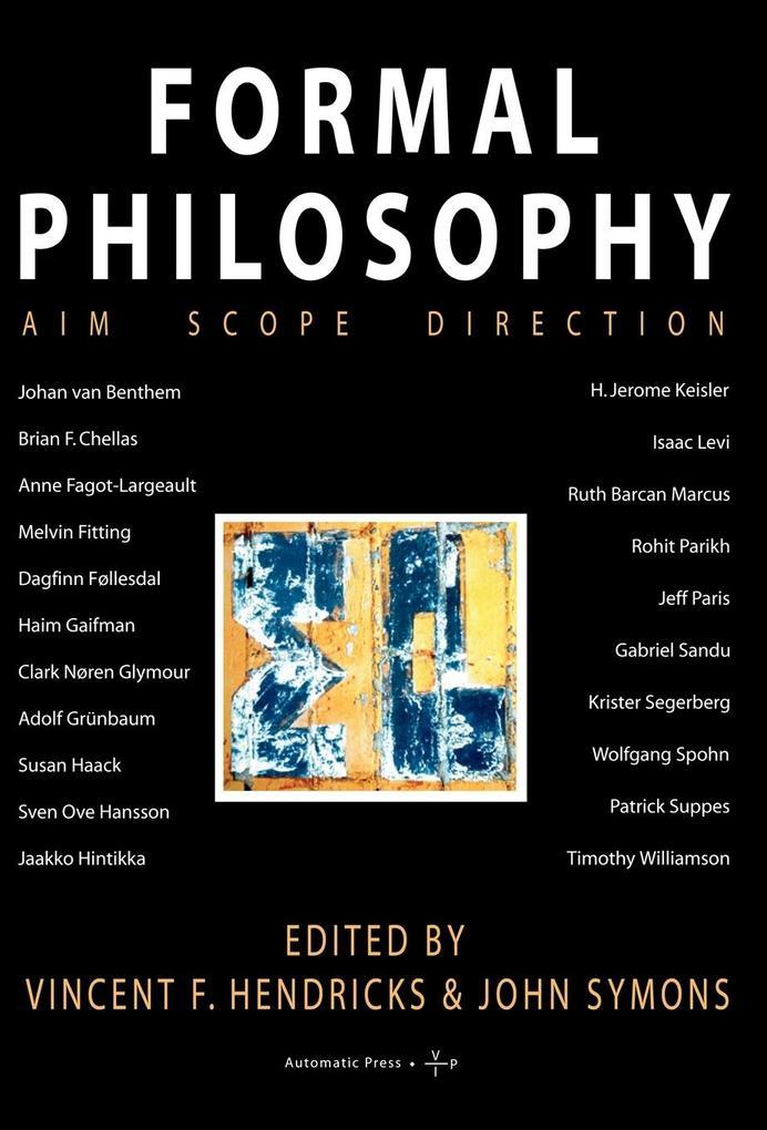 Formal Philosophy als Buch