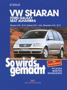 VW Sharan / Ford Galaxy / Seat Alhambra