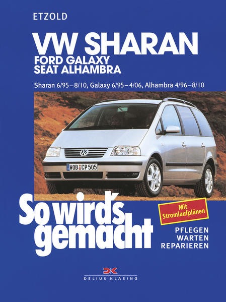 VW Sharan / Ford Galaxy / Seat Alhambra als Buch