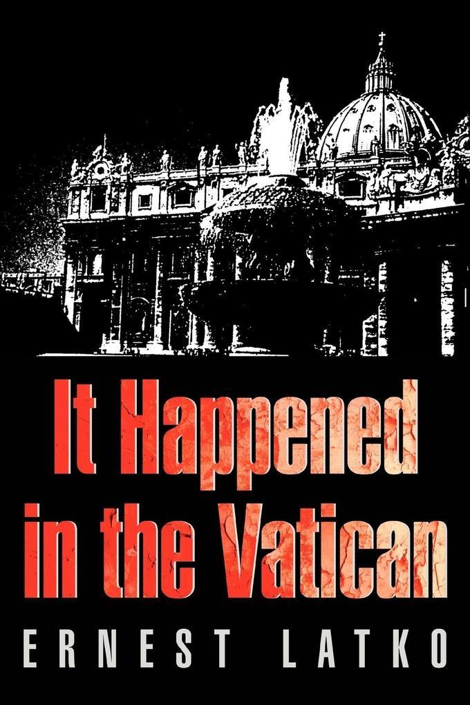 It Happened in the Vatican als Buch