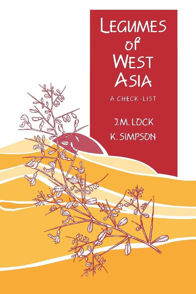 Legumes of West Asia: A Checklist als Buch