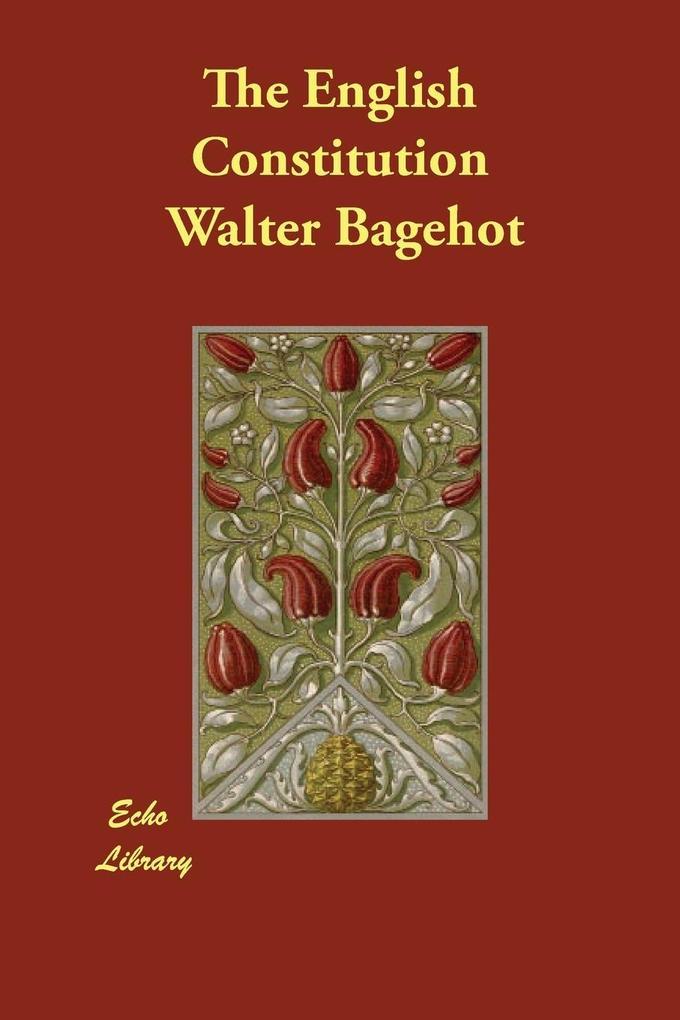 The English Constitution als Taschenbuch