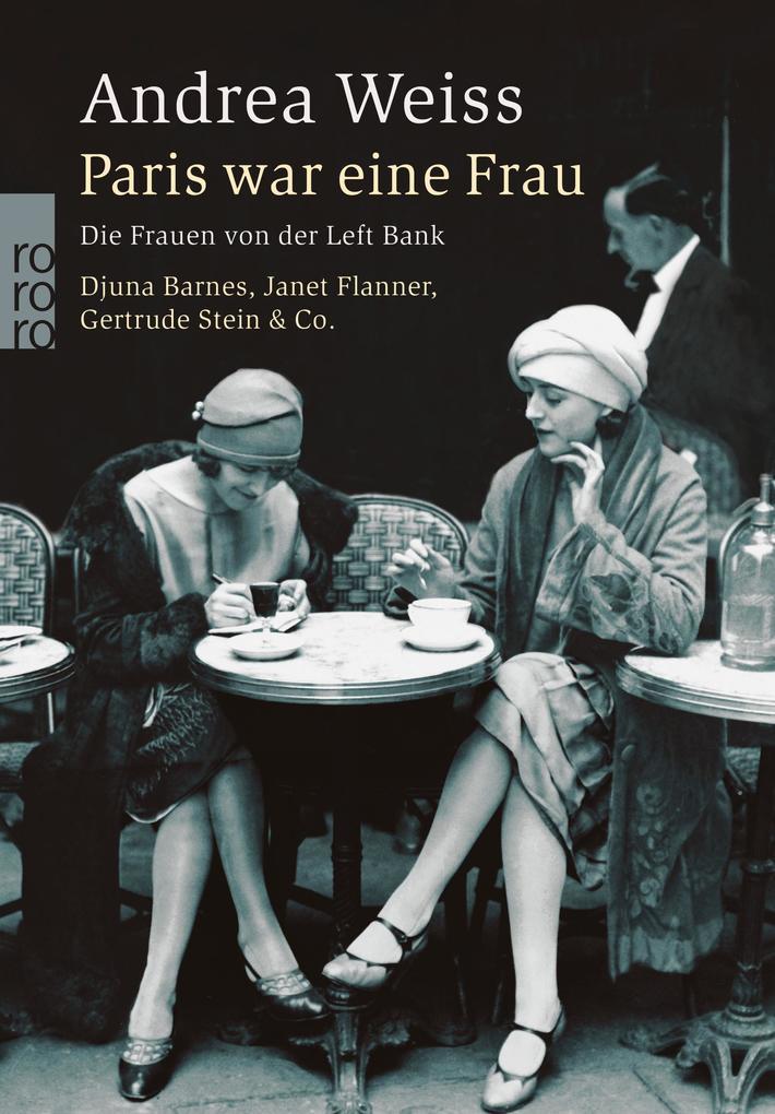 Paris war eine Frau als Buch