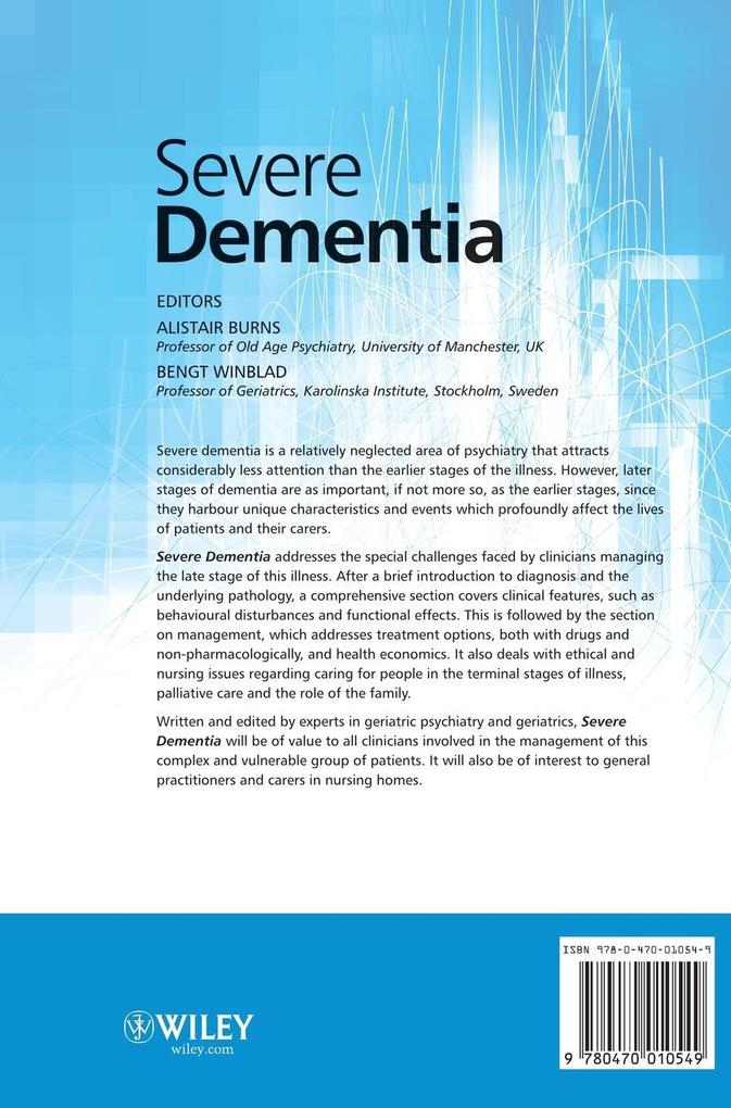 Severe Dementia als Buch