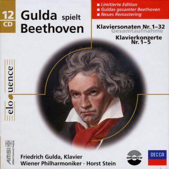 Klaviersonaten Nr. 1-32 (GA) / Klavierkonzerte Nr. 1-5 (GA). 12 Klassik-CDs als CD