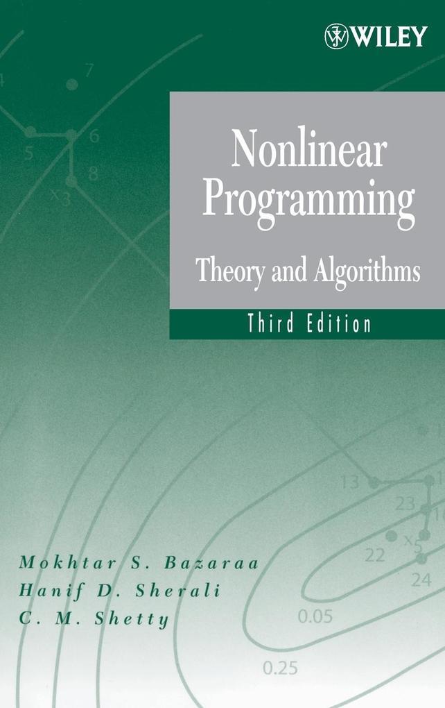 Nonlinear Programming 3E als Buch