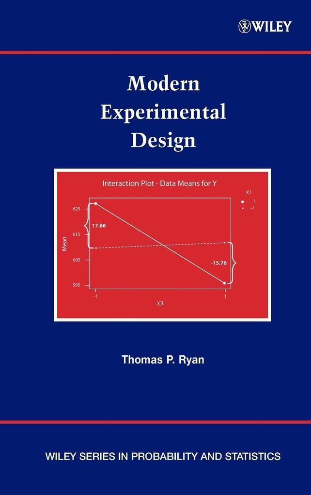 Modern Experimental Design als Buch