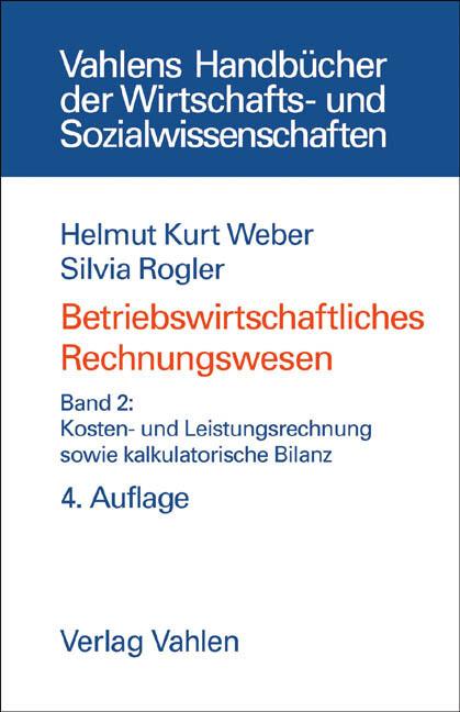 Betriebswirtschaftliches Rechnungswesen II als Buch