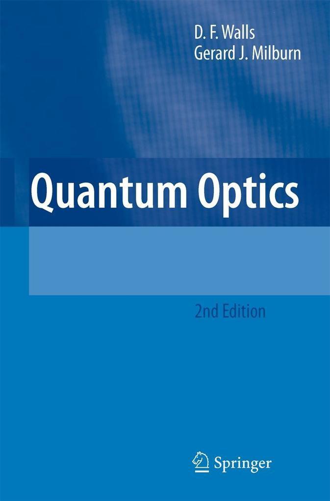 Quantum Optics als Buch
