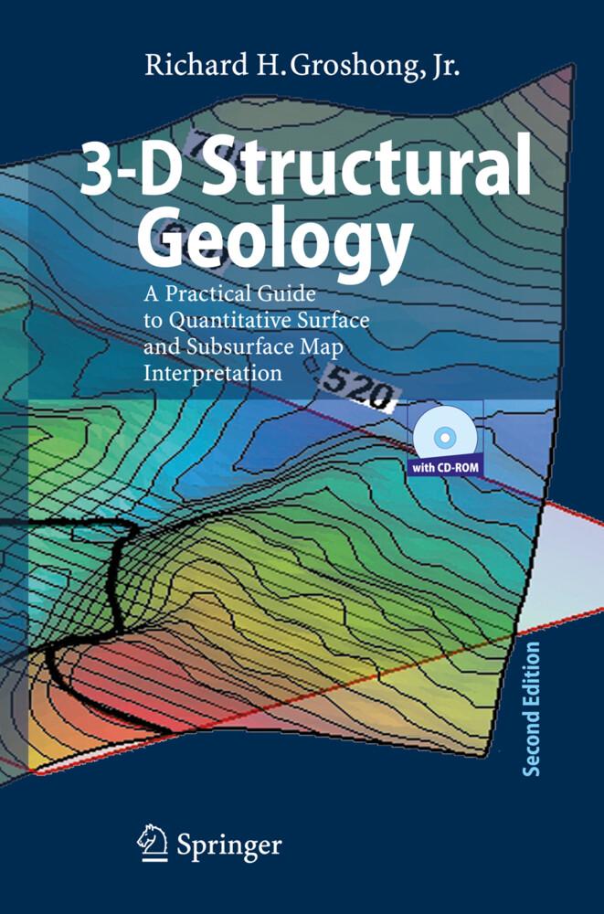 3-D Structural Geology. Mit CD-ROM als Buch