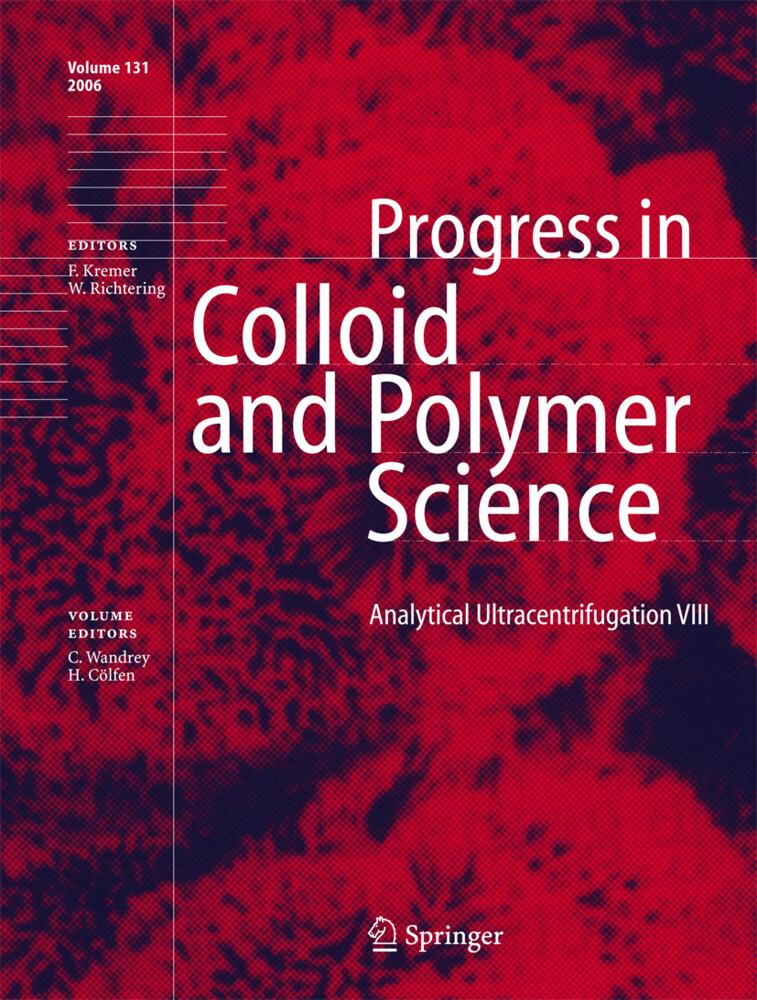 Analytical Ultracentrifugation VIII als Buch