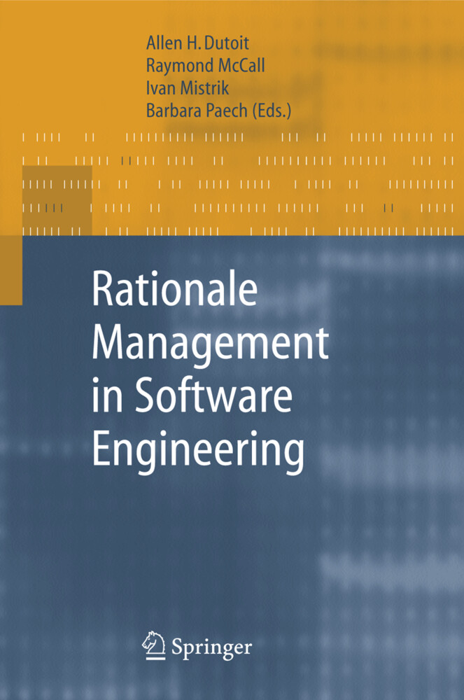 Rationale Management in Software Engineering als Buch