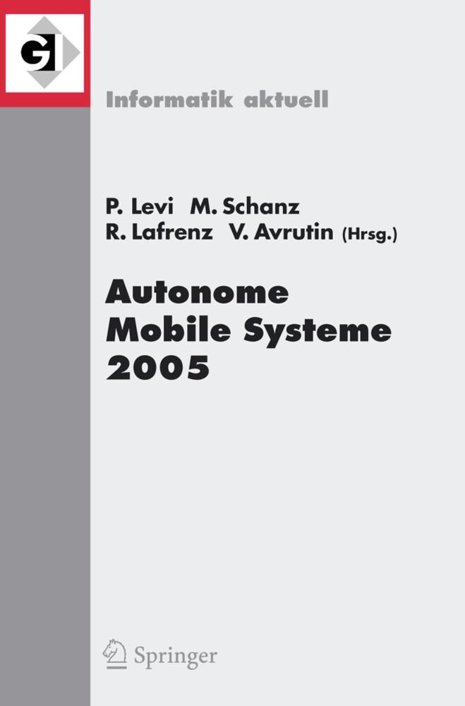 Autonome Mobile Systeme 2005 als Buch