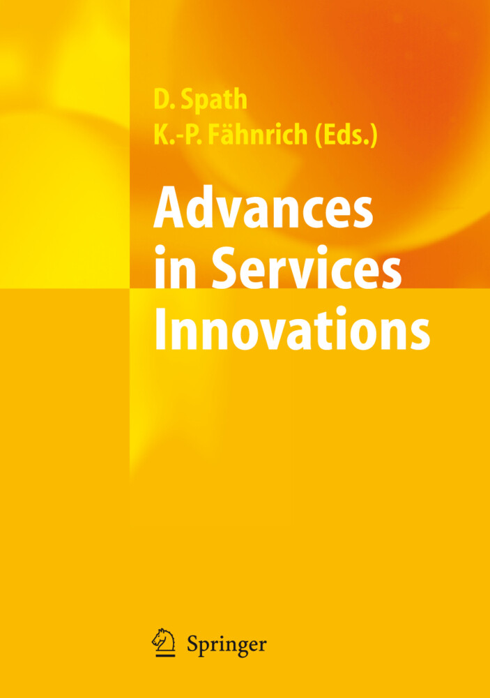 Advances in Services Innovations als Buch
