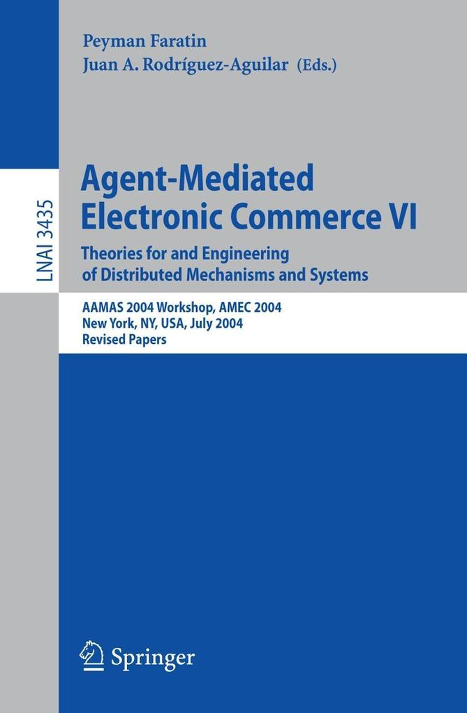 Agent-Mediated Electronic Commerce 6 als Buch