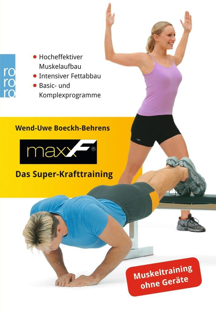 maxxF - Das Super-Krafttraining als Taschenbuch
