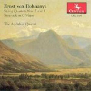 Streichquartette 2 u.3/+Serenade C-Dur als CD