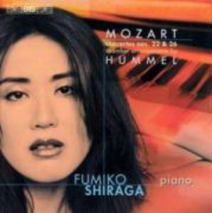 Klavierkonzerte 22 und 26 als CD