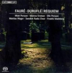 Requiem op.9 und Faure: Requiem op.48 als CD
