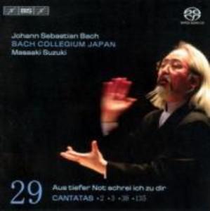 Sämtliche Kantaten vol.29 als CD