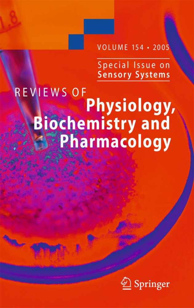 Reviews of Physiology, Biochemistry and Pharmacology 154 als Buch