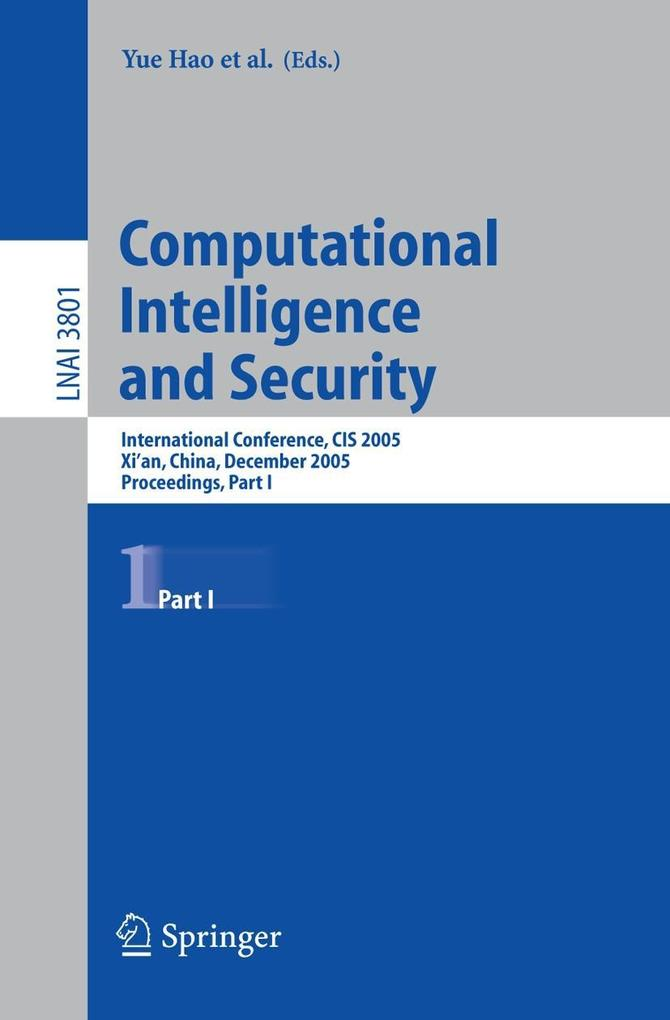 Computational Intelligence and Security als Buch