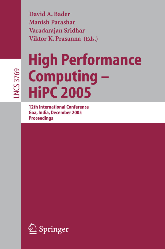 High Performance Computing - HiPC 2005 als Buch