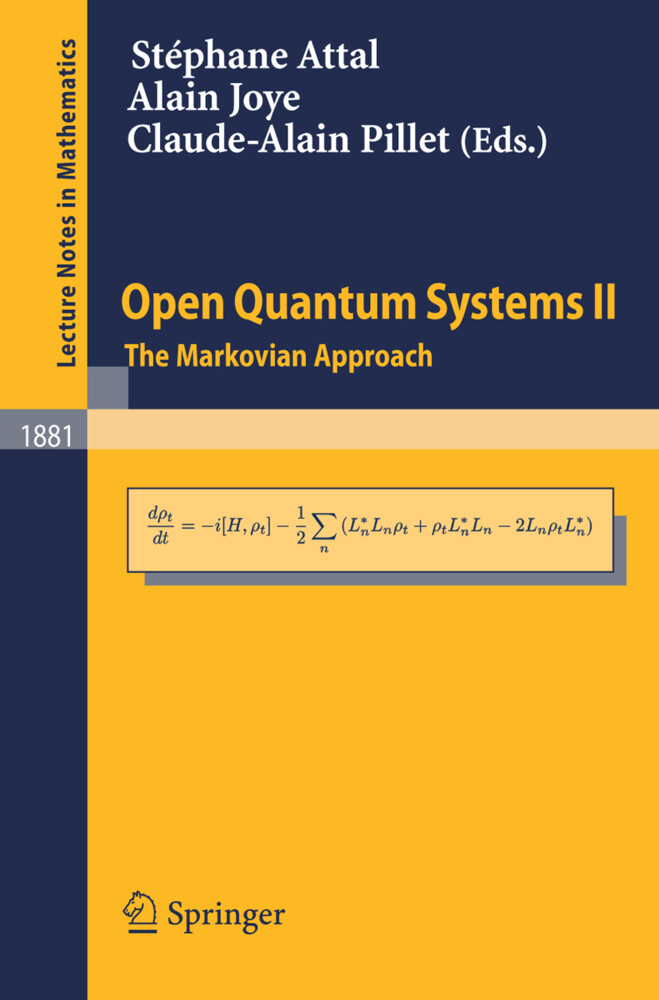 Open Quantum Systems 2 als Buch