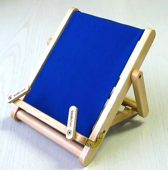 Bookchair Medium Blau als Spielwaren