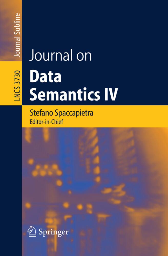 Journal on Data Semantics IV als Buch