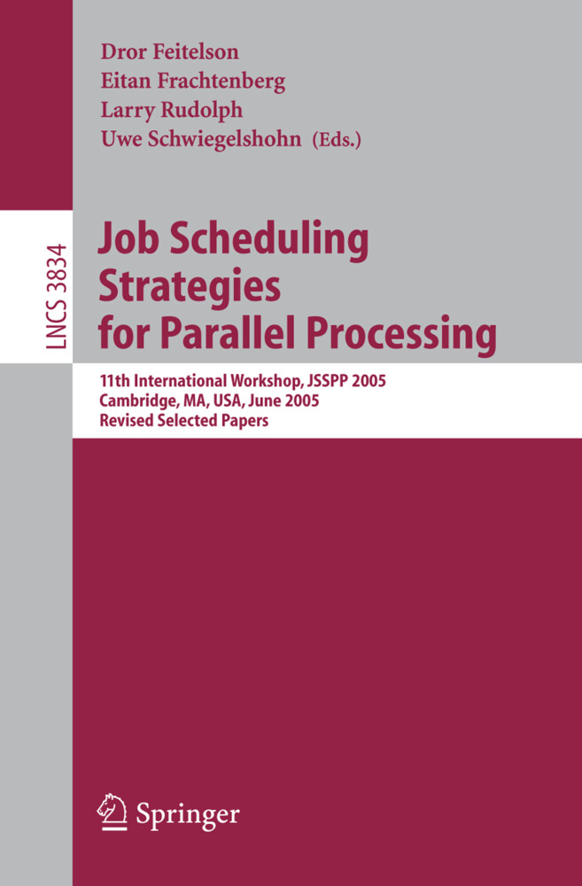 Job Scheduling Strategies for Parallel Processing als Buch