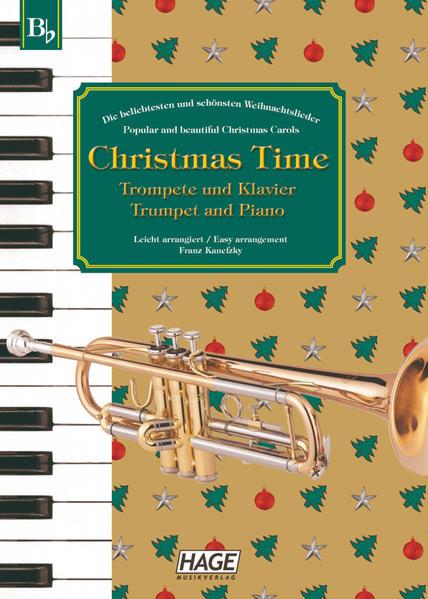 Christmas Time für Trompete und Klavier als Buch