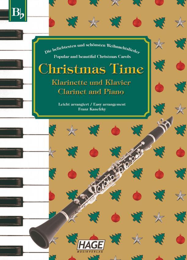 Christmas Time für Klarinette und Klavier / Clarinet and Piano als Buch