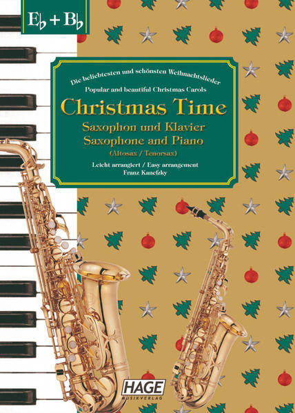 Christmas Time für Saxophon und Klavier als Buch