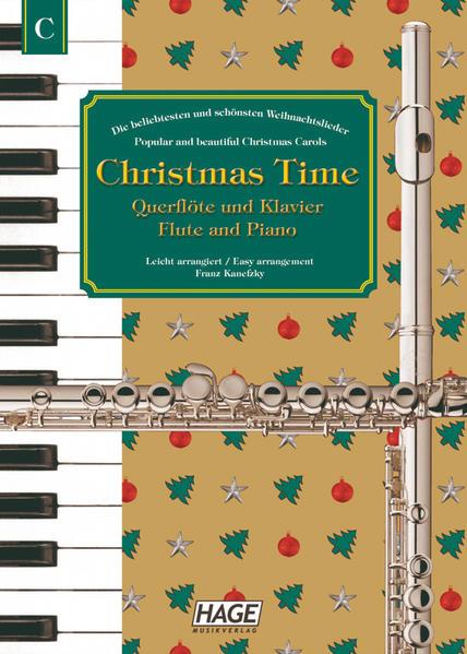 Christmas Time für Querflöte und Klavier als Buch