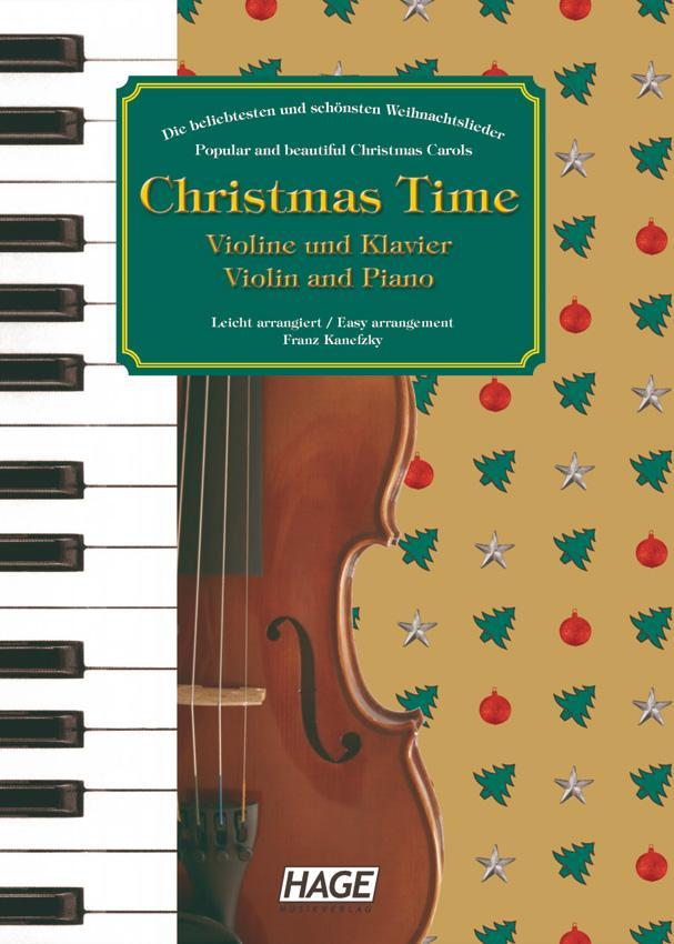 Christmas Time für Violine und Klavier als Buch