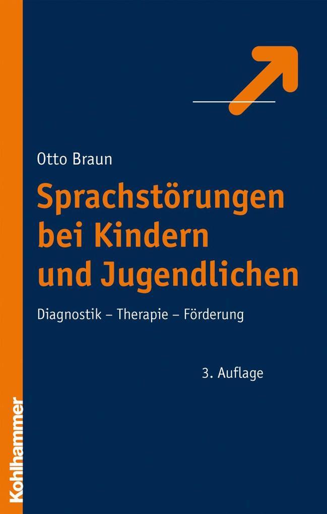 Sprachstörungen bei Kindern und Jugendlichen als Buch