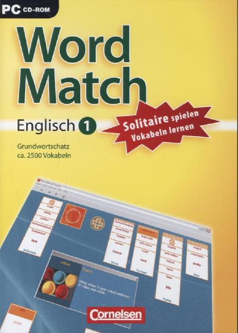 WordMatch - Englisch 1: Grundwortschatz. CD-ROM als Software